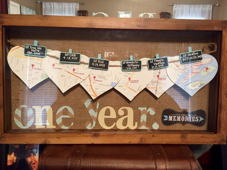 Best 25 1st Anniversary Ts Ideas On Pinterest From 1st Wedding Anniversary Gift Idea 1 Year Anniversary Gifts Anniversary Scrapbook Boyfriend Anniversary Gifts