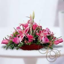 Image result for arreglos florales con rosas