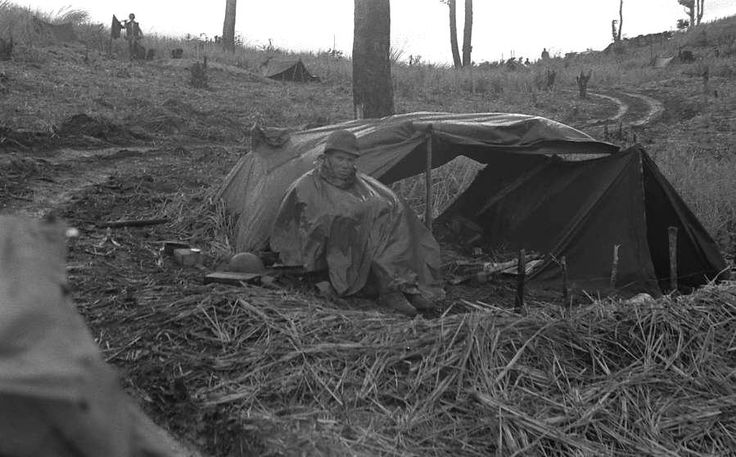Nov 1, 1966 Dong Ha, a Marine enjoying the weather