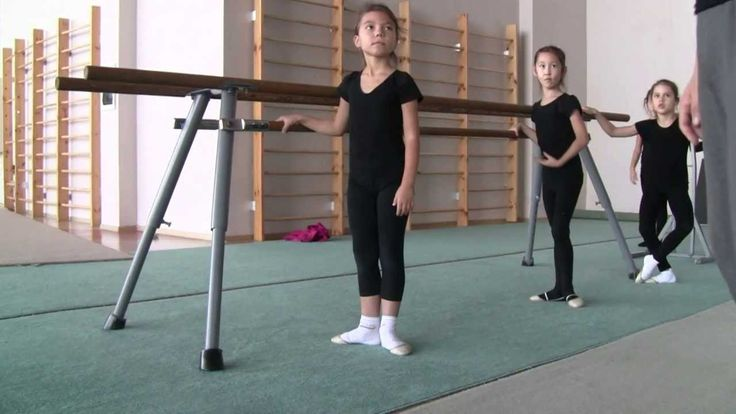 Урок классической хореографии для художественной гимнастики - 2