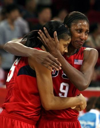 Candace Parker And Lisa Leslie