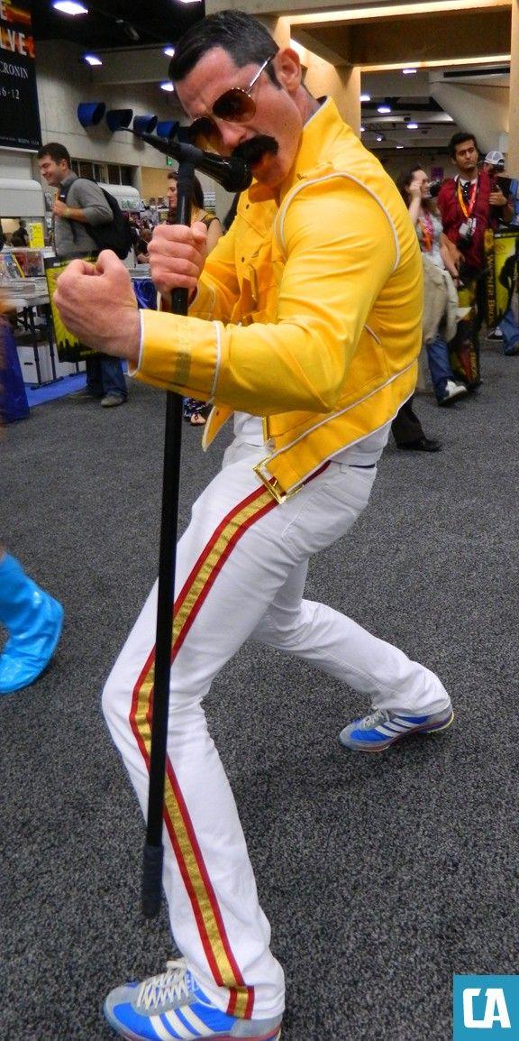 Comic-Con 2012 cosplay  - Freddie Mercury