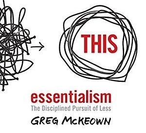 THC Book Club - Essentialism by Grey Mckeown
