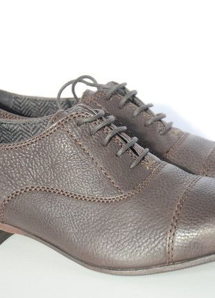 À vendre sur #vintedfrance ! http://www.vinted.fr/chaussures-femmes/derbies/25811572-derbies-marron-en-cuir-miss-sixty