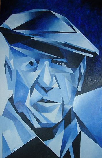 http://UpCycle.Club ∴ Pablo #Picasso Blue @upcycleclub