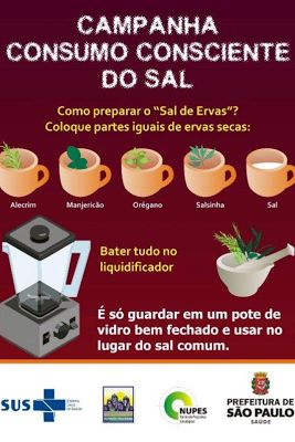 Dra Fernanda Granja Nutricionista Funcional: Sal de Ervas