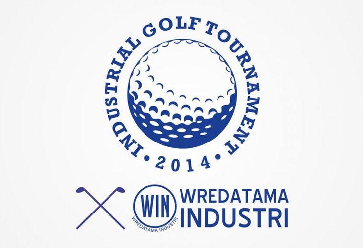 Log Design Turnamen Golf Kementerian Perindustrian Republik Indonesia oleh ATDIV.com - http://www.atdiv.com
