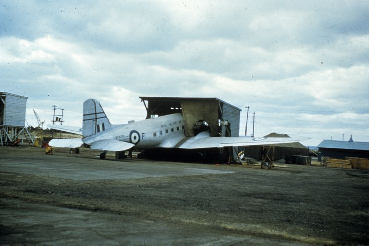 A C-47 (S/N 92630) of the Royal Hellenic Air Force at Anyang, South Korea during the war