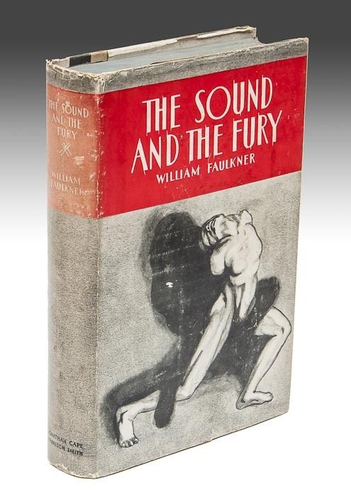 an analysis of the sound and the fury by william faulkner 1929 William faulkner is best known for his novels, particularly the sound and the fury (1929), absalom, absalom (1936), and as i lay dying (1930), all of which have been translated widely a fable.