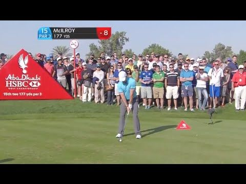 WATCH: Rory McIlroy Hits First Hole in One Of His Professional Career | FatManWriting