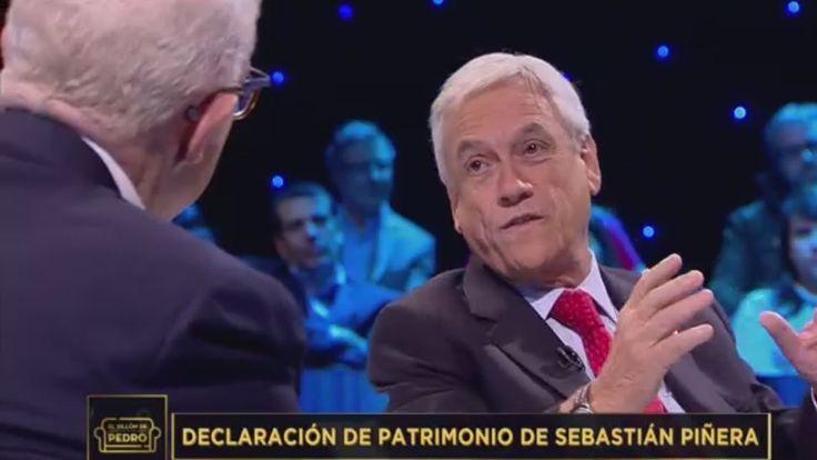 El Sillón de Pedro Presidencial: Sebastián Piñera