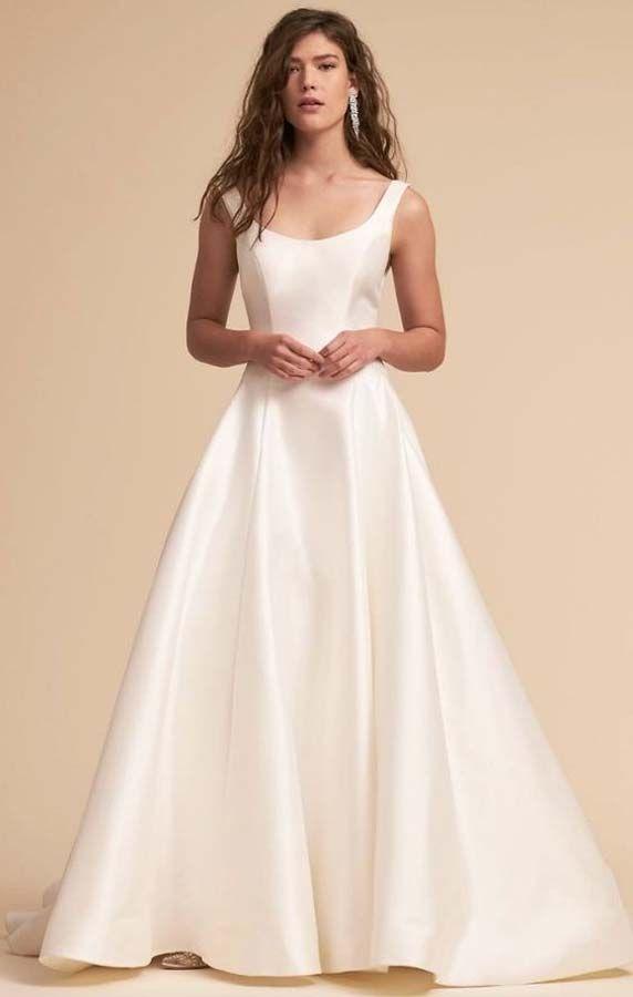 78eff82e7ae Simple And Normal Range Wedding dress idea