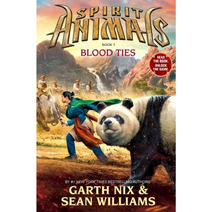 Blood Ties (Spirit Animals Series #3) (Hardcover) by Garth Nix, Sean Williams