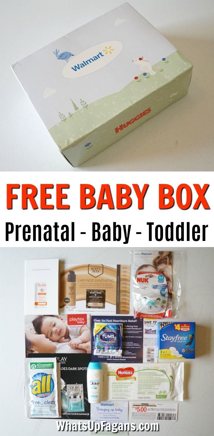 82db1897f Want to know what's in a Walmart Baby Box? Well, you're in luck! I ordered  all three free Walmart Baby Box options so I could do this Walmart Baby Box  ...