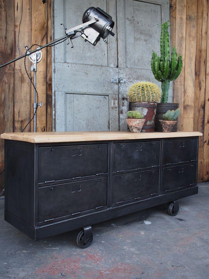 13 best Meubles industriels images on Pinterest Industrial - le bon coin toulouse location meuble
