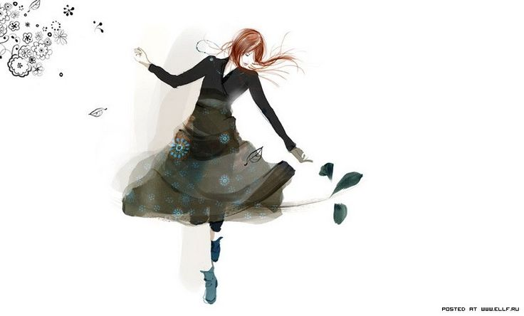 Французские девушки от иллюстратора Софи Гриотто (34 картинки)
