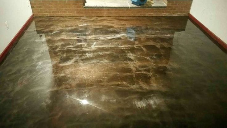 Metallic Epoxy Flooring- Creative Concrete Coatings- Lake Gaston NC