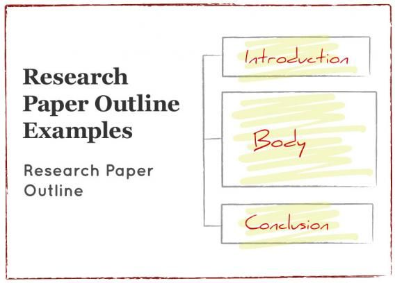 Best  Research Paper Outline Example Ideas On