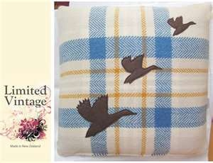 Image Search Results for wool blanket cushion