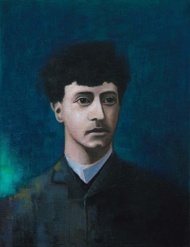 Gabriele d'Annunzio - Painting by Michael Kunze