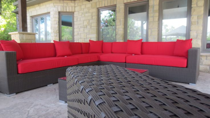 Wicker Direct Ceaser Sectional