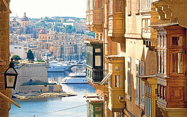 Valetta, Malta - another really cool place I would have never went to if it weren't a stop on the cruise.  The best taxi driver we had!