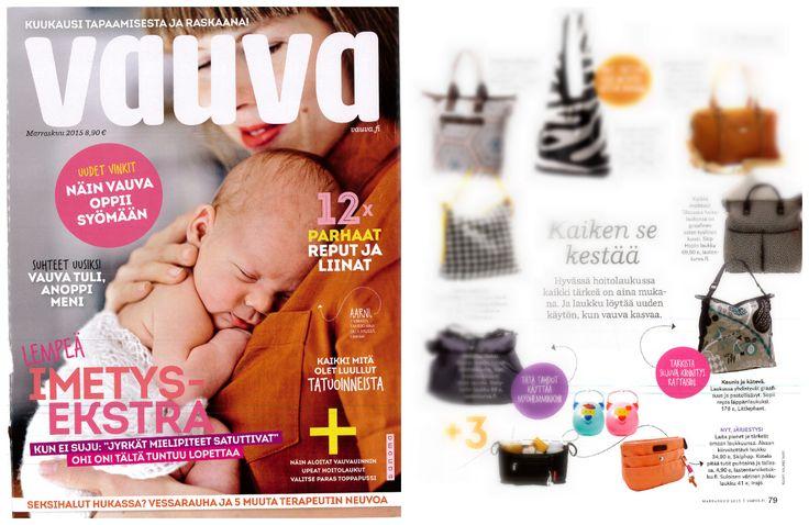 Nice feature at #vauva magazine!
