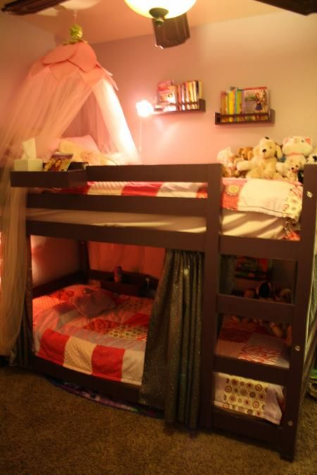 17 best images about kids home on pinterest loft beds Short canopy bed