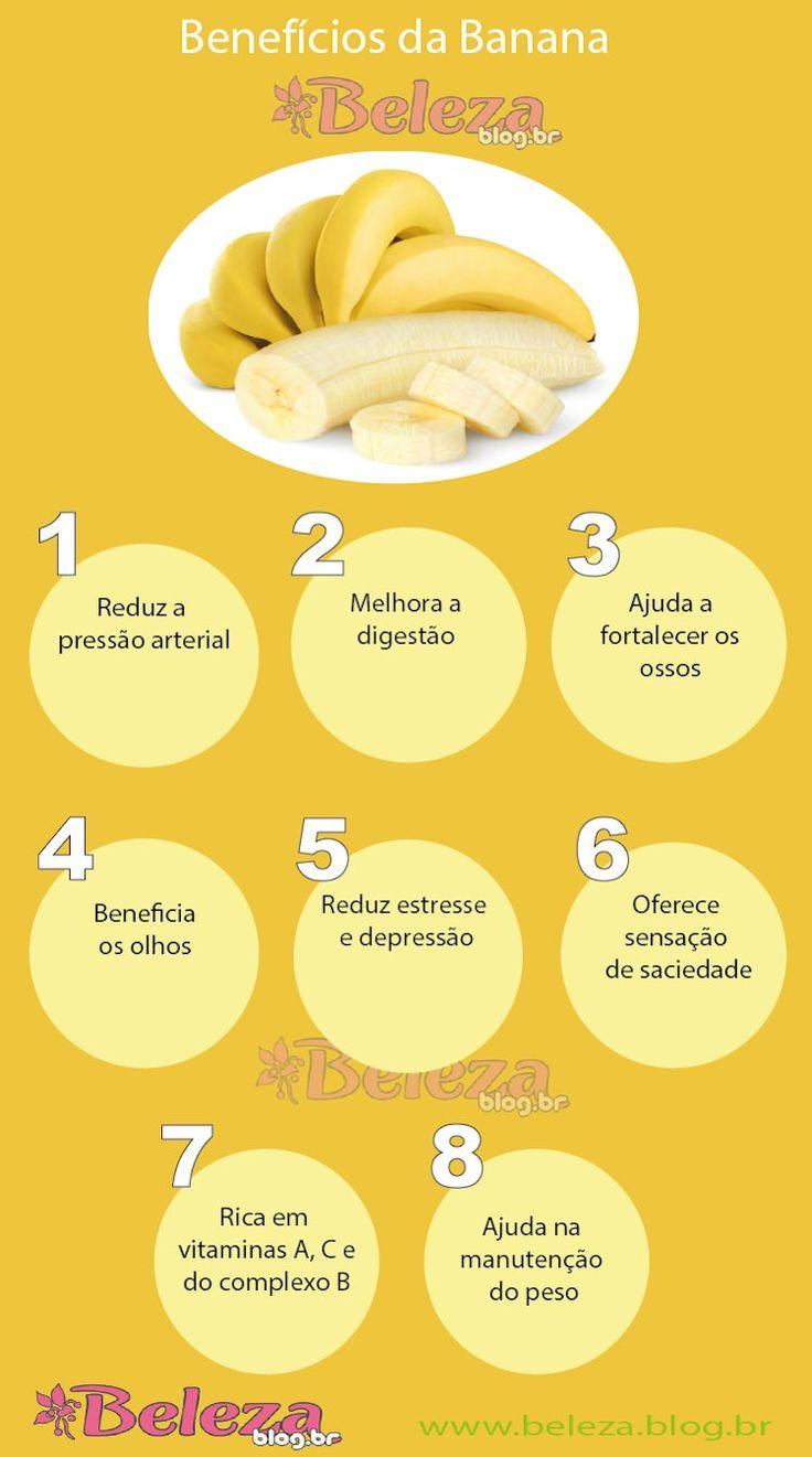 Benefícios da Banana                                                                                                                                                                                 Mais