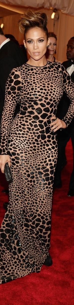 Jennifer Lopez in Michael Kors at the 2013 Met Gala