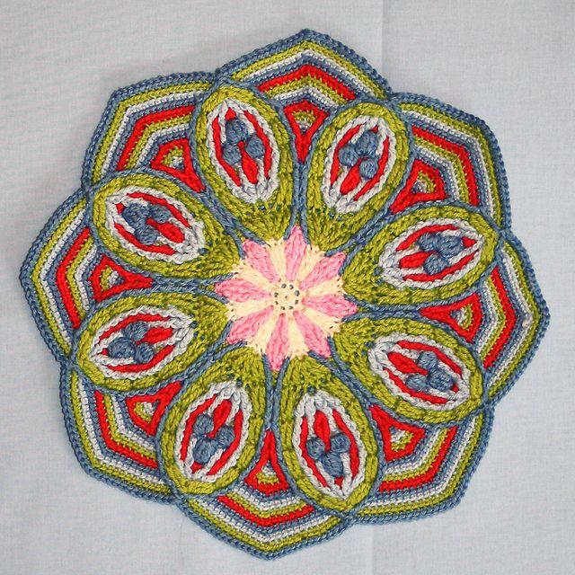Mandala (overlay crochet)