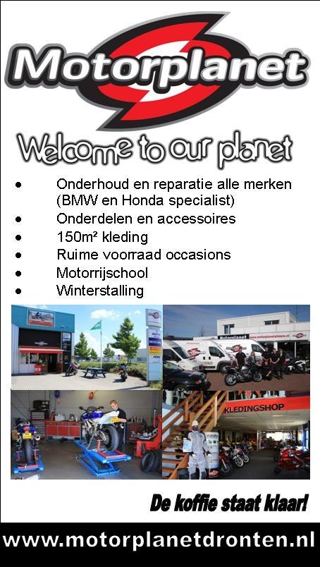 Motorplanet Dronten, Onderhoud en reparatie, onderdelen en accessoires, kleding, occasions, motorrijschool, winterstalling, #Dronten