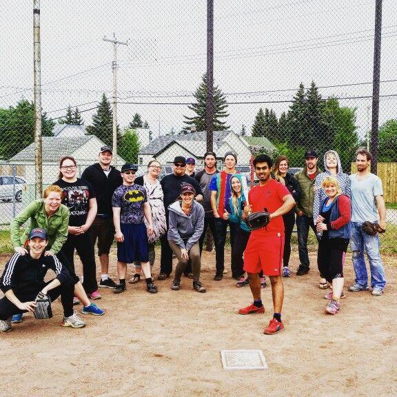 Yeah. We play ball! The Scene...