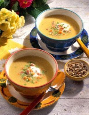 Feine Gemüse-Creme-Suppe