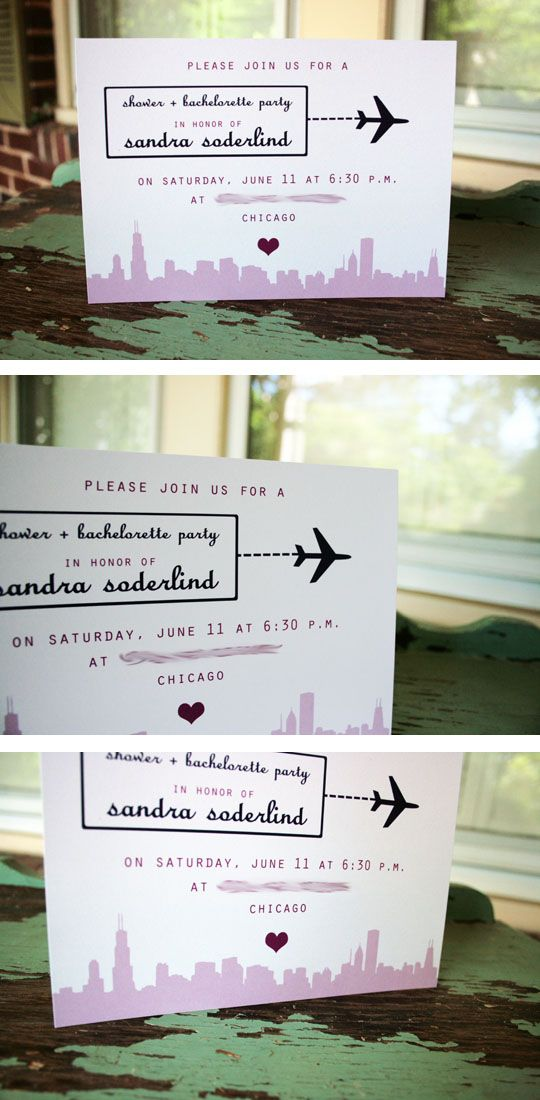 recipe themed bridal shower invitation wording%0A travel themed bridal shower invitations diy  Bing Images