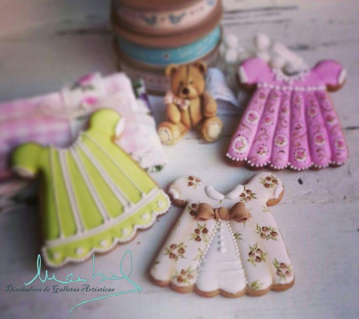Baby shower, Cookies de dulce, Royal icing, volumen con glasa, pintado a mano alzada.