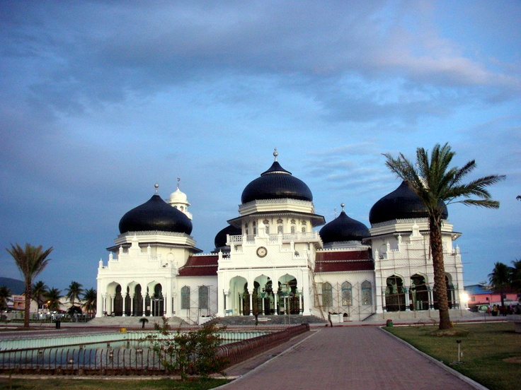 Grand Baiturrachman Mosque, Aceh – Indonesia
