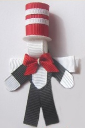 Cat in a hat... Love some Dr Suess! ~ TheHaircandyStore