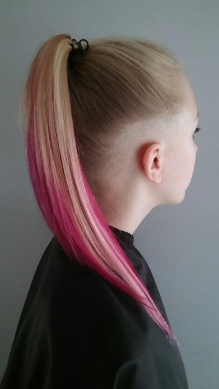 Undercut , longhair , pinkhair
