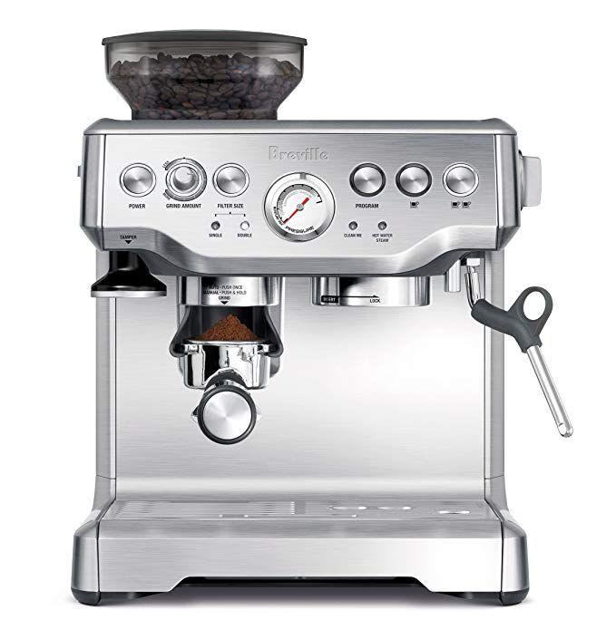 Breville Bes870xl Barista Express Espresso Machine Review Best Home Espresso Machine Breville Espresso Machine Home Espresso Machine
