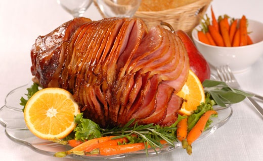 Epicure's Maple Spice Glazed Ham