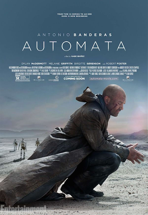 First Trailer For Sci-Fi Drama Automata From Gabe Ibáñez and Antonio Banderas