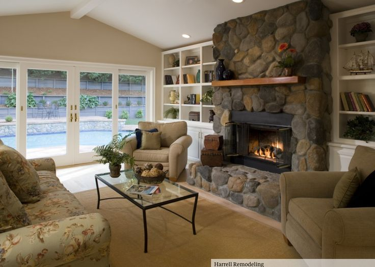 Perfect Living Room   Traditional   Living Room   San Francisco   Harrell  Remodeling But Lighten The Fireplace