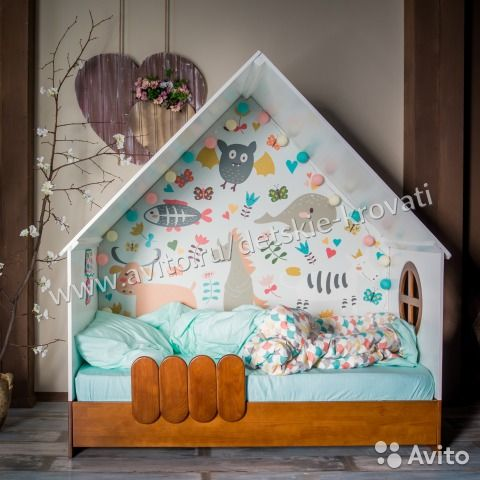 Кровать домик LittleHome— фотография №10