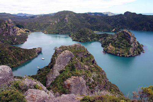 View from Dukes Nose. Doubtless Bay  far North NZ