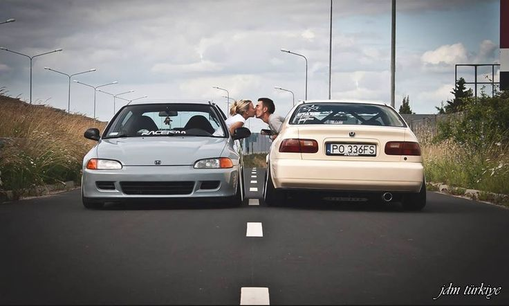 A couple that plays together, stays together, I hope to find this one day!! #JDM, #Import & #Tuner pics!