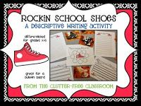 PETE THE CAT inspired ROCKING IN MY SCHOOL SHOES Clutter-Free Classroom's Online Catalog is a visual inventory of hundreds of products & freebies created to help teachers w/ classroom organization & management, effective teaching strategies, engaging lessons, & classroom set-up, design, & decor. It has free printables, instant downloads, PDFs, no prep activities, centers, games, homework ideas for math, science, social studies, language arts, reading, writing, word study, anti-bullying, etc.