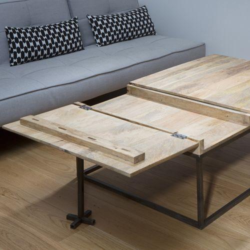 17 meilleures id es propos de table rabattable sur for Rallonge pour table rectangulaire