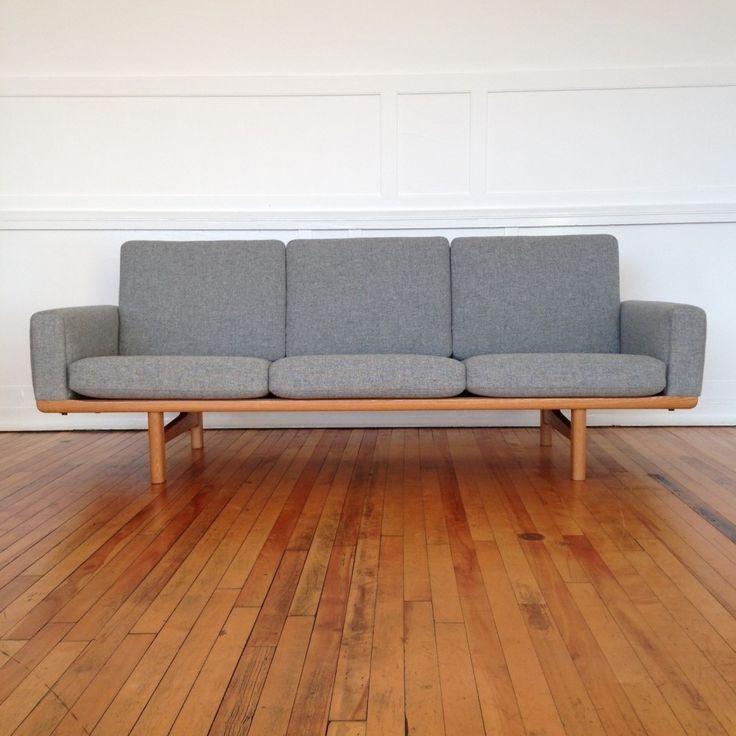 Located using retrostart.com > GE-236 Sofa by Hans Wegner for Getama