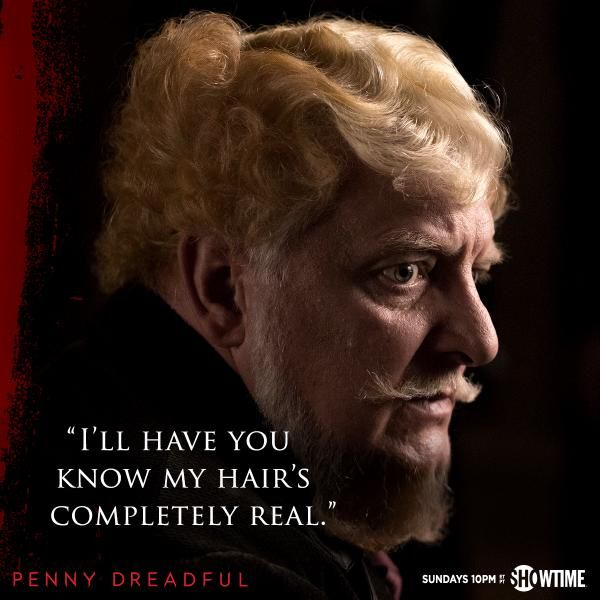 SHO_Penny: Leave it to Sir Ferdinand Lyle to bring humor even in the most dire of circumstances. #PennyDreadful